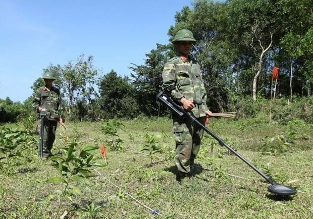 Le Vietnam et la Republique de Coree cooperent dans le deminage hinh anh 1