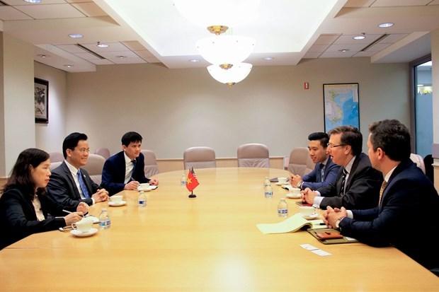 Les entreprises americaines envisagent une cooperation renforcee avec le Vietnam hinh anh 1