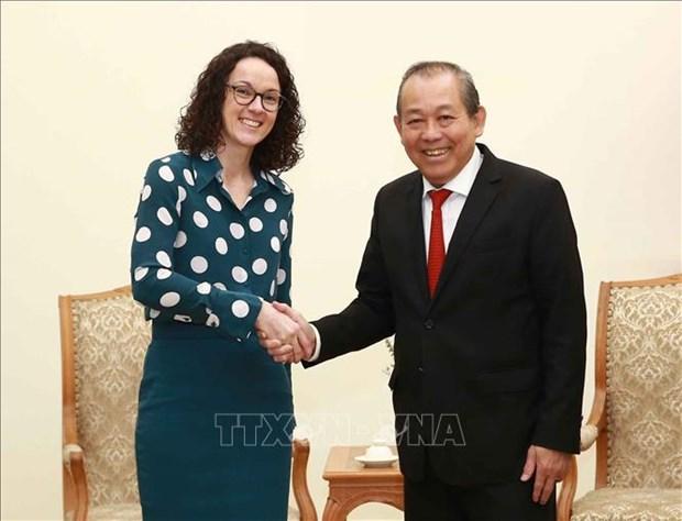 Renforcement des relations de cooperation entre le Vietnam et la Hesse (Allemagne) hinh anh 1