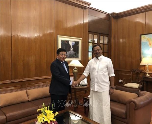 Vietnam et Inde accelerent la promotion de l'investissement et du commerce hinh anh 1