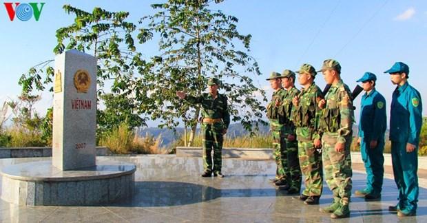 Le symbole de la solidarite Vietnam-Laos-Cambodge hinh anh 1