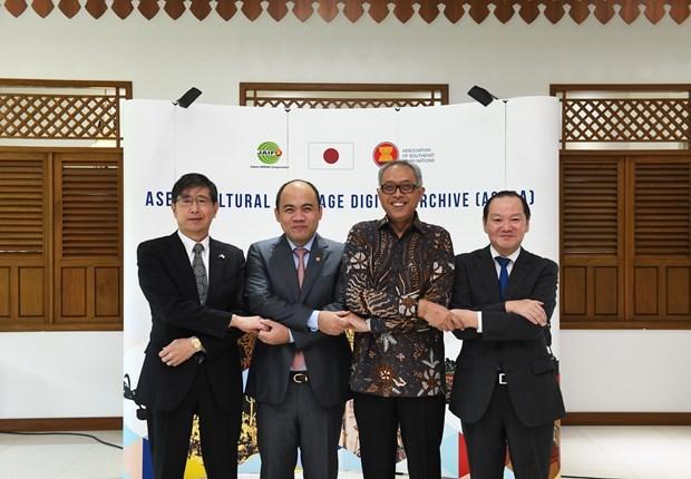 L'ASEAN lance une page Web d'archives numeriques sur le patrimoine culturel hinh anh 1