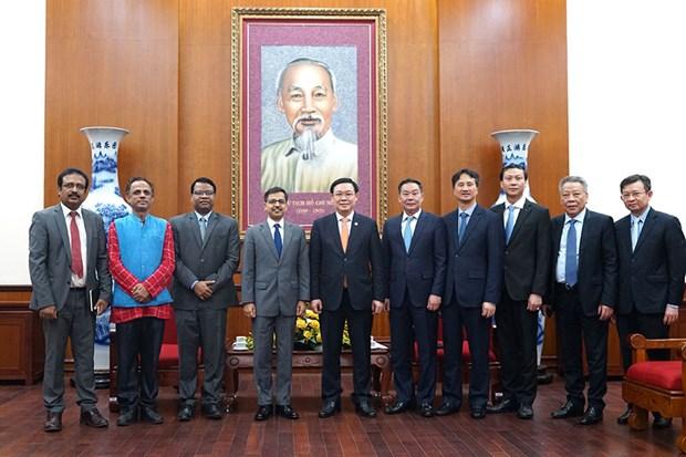 Renforcement de la cooperation multiforme entre Hanoi et les localites indiennes hinh anh 1