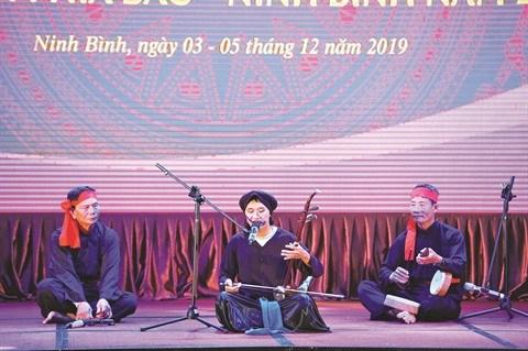 A Hanoi, les artistes entretiennent la flamme du chant xam hinh anh 1