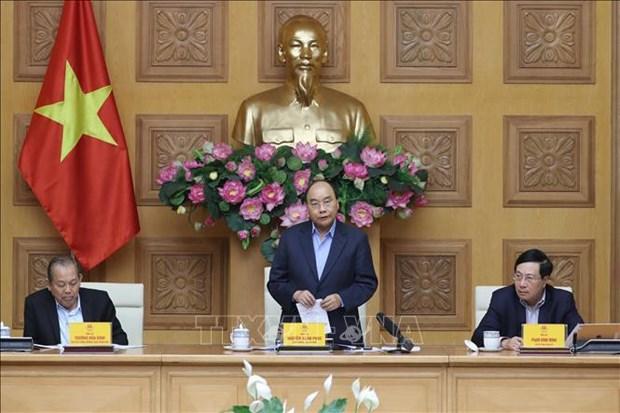 Le PM Nguyen Xuan Phuc appelle a maintenir la vigilance face au coronavirus hinh anh 1