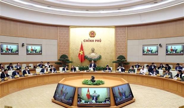 Gouvernement : lutte contre le COVID-19 parallele au developpement economique hinh anh 1