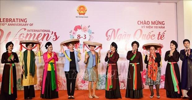 Egalite des sexes et promotion du role des femmes, deux priorites du Vietnam hinh anh 1