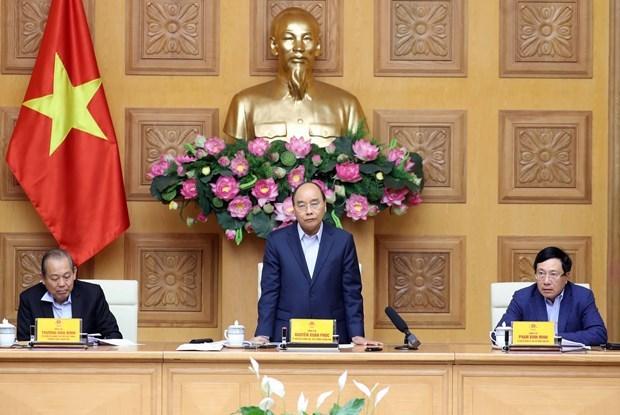 Le PM reconnait les realisations du comite de pilotage national de lutte contre le COVID-19 hinh anh 1