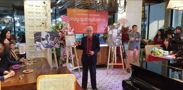 Ha Tuong, le portraitiste des artistes hinh anh 1