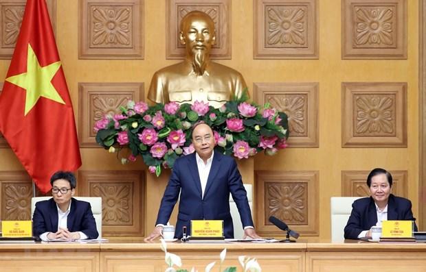 Le PM preside une reunion du Conseil national des salaires hinh anh 1
