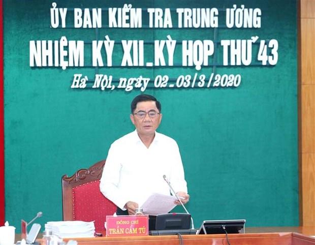 La Commission de controle propose de sanctionner plusieurs officiels hinh anh 1