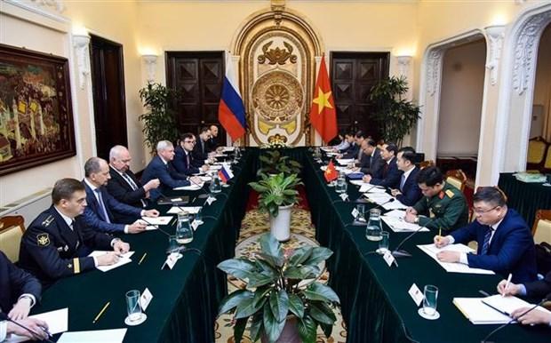 Dialogue strategique de niveau de premier vice-ministre des AE Vietnam-Russie hinh anh 1