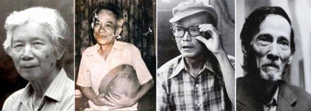 """""""Les personnes de l'ancien temps"""", chronologie des artistes vietnamiens du 20e siecle hinh anh 2"""