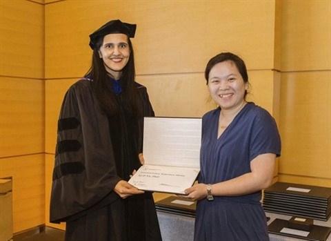 Cellules souches : une Vietnamienne honoree par la Societe americaine d'hematologie hinh anh 1