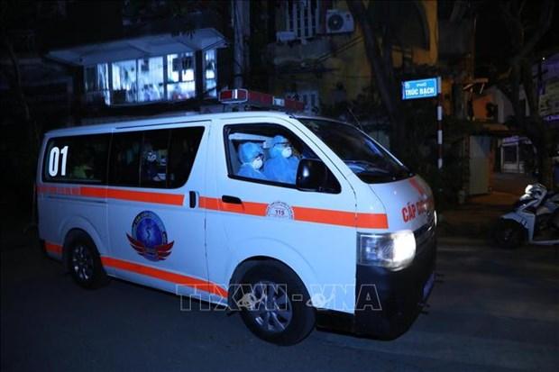 COVID-19 : Hanoi prete a accueillir et a traiter les cas infectes hinh anh 1