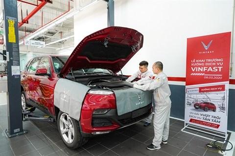 VinFast ouvre 18 ateliers de maintenance et reparation a travers le pays hinh anh 1