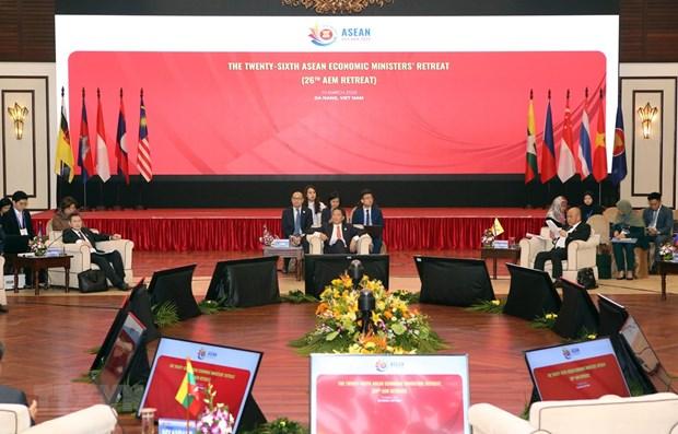 L'AEM Retreat publie une declaration commune sur la resilience economique face au COVID-19 hinh anh 1