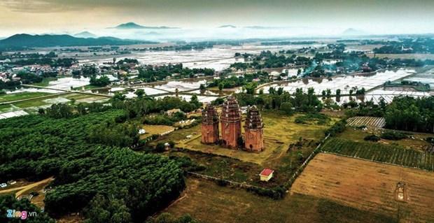Les vestiges de la civilisation Cham a Binh Dinh hinh anh 2