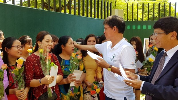 Rencontre avec des femmes vietnamiennes au Mozambique hinh anh 1