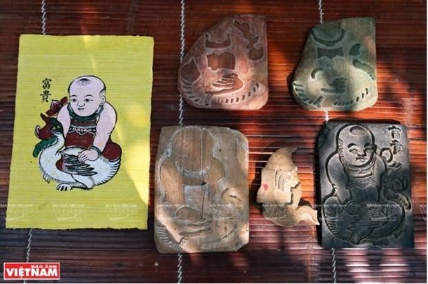 L'art des estampes populaires de Dong Ho veut seduire l'UNESCO hinh anh 2