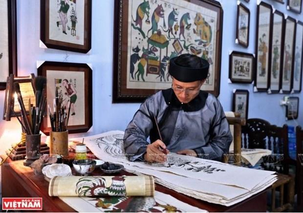 L'art des estampes populaires de Dong Ho veut seduire l'UNESCO hinh anh 3