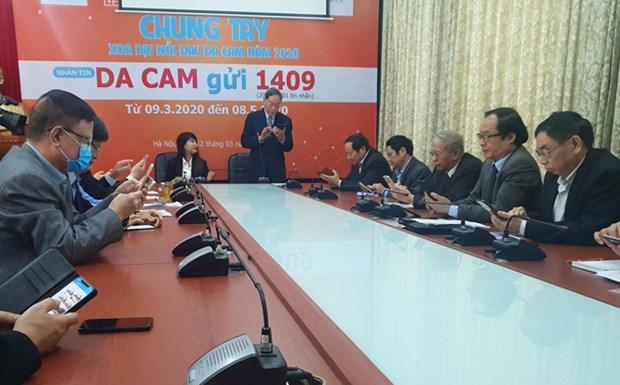Lancement d'un programme de messagerie pour soutenir les victimes de l'agent orange hinh anh 1