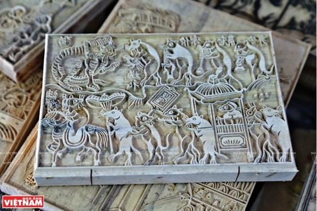 L'art des estampes populaires de Dong Ho veut seduire l'UNESCO hinh anh 1
