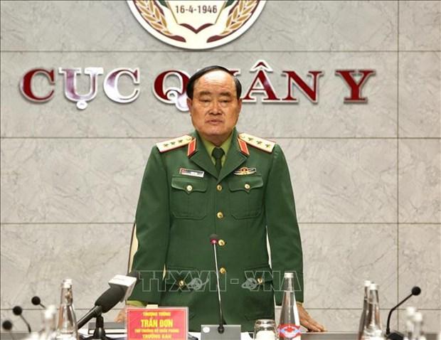 COVID-19: l'armee vietnamienne se prepare aux differentes mesures d'intervention hinh anh 1