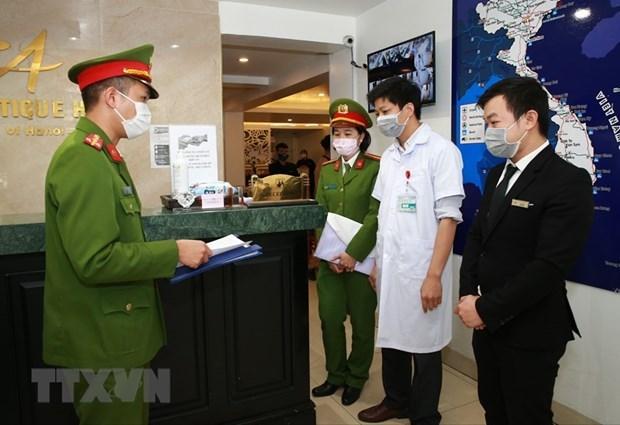 Examiner la declaration de l'etat de sante des touristes dans les hebergements touristiques hinh anh 1