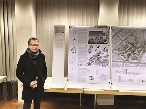 Un architecte vietnamien aux commandes d'un quartier en Allemagne hinh anh 1
