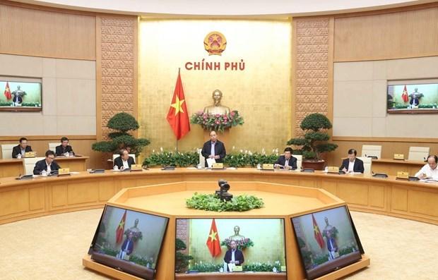 COVID-19: le Vietnam en moment d'or dans la lutte anti-pandemie, selon le PM Nguyen Xuan Phuc hinh anh 1