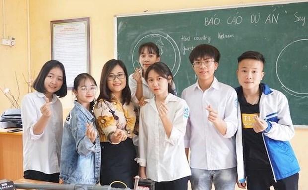 Une Vietnamienne parmi les 50 meilleurs enseignants du monde hinh anh 1