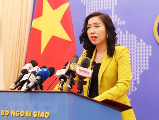 Le Vietnam ne reconnait pas le soi-disant «ligne des neuf troncons» en Mer Orientale hinh anh 1