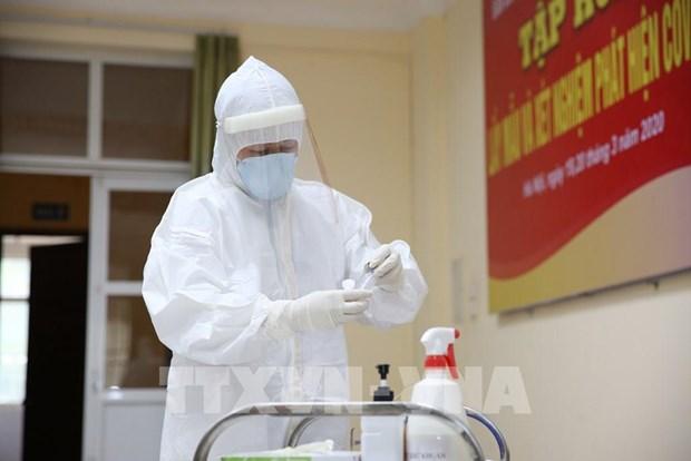 Deux nouveaux cas de contamination au coronavirus SARS-CoV-2 au Vietnam hinh anh 1