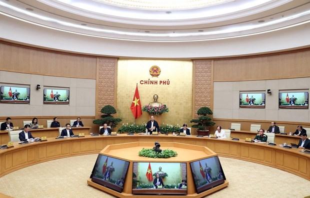 Le PM demande la participation de tout le systeme politique pour empecher la propagation du COVID-19 hinh anh 1