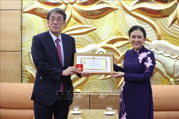 L'ambassadeur du Japon au Vietnam a l'honneur hinh anh 1