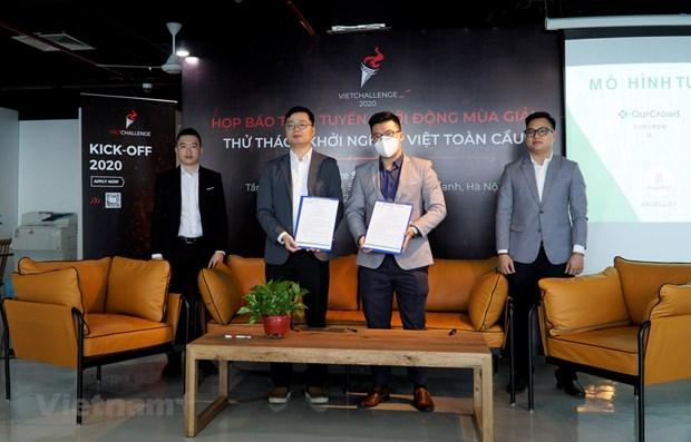 Le concours VietChallenge 2020 officiellement lancee a Hanoi hinh anh 1
