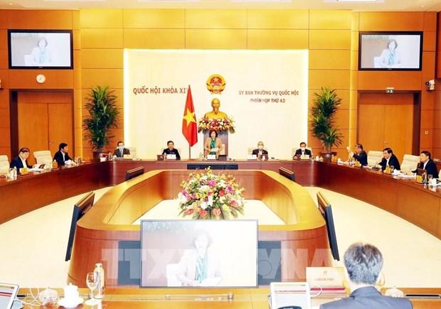 Le Comite permanent de l'Assemblee nationale ouvre sa 43e session a Hanoi hinh anh 1