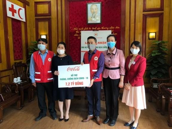 Coca-Cola Vietnam soutient la prevention et la lutte contre le COVID-19 hinh anh 1