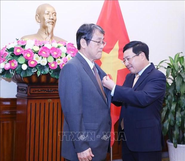 L'ambassadeur japonais au Vietnam a l'honneur hinh anh 1