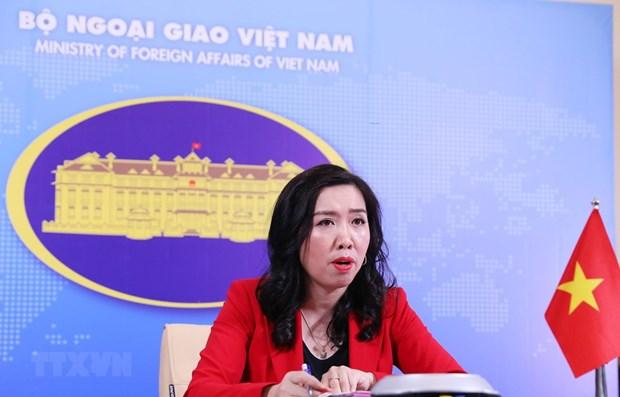 Le Vietnam demande a la Chine de respecter la souverainete vietnamienne hinh anh 1