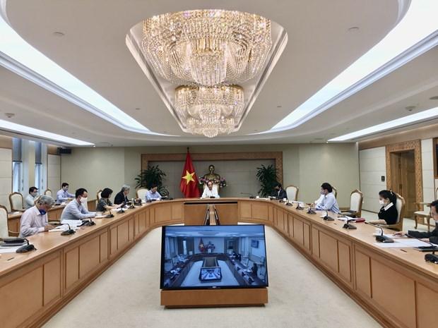 COVID-19 : Le groupe de travail du Premier ministre saisit les difficultes des entreprises hinh anh 1