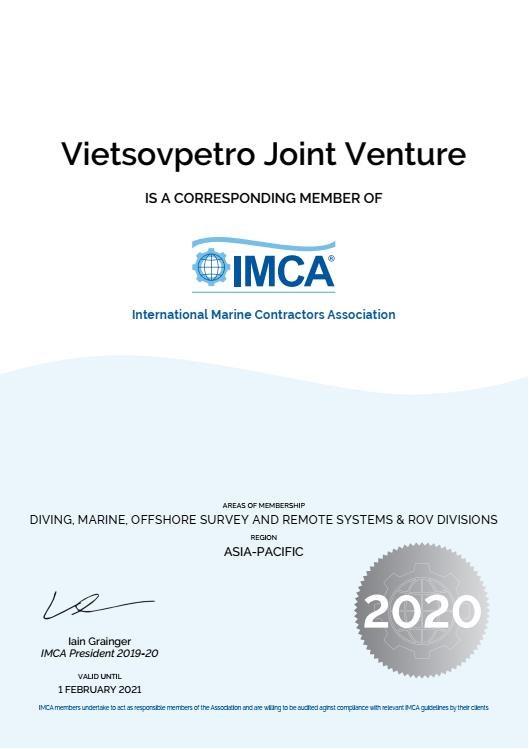 Vietsovpetro devient membre de l'Association internationale des entrepreneurs maritimes hinh anh 1