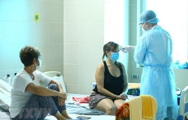 COVID-19: dix nouveaux cas au Vietnam hinh anh 1