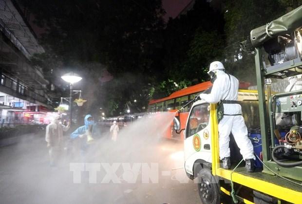 COVID-19 : les contaminations au Vietnam depassent la barre des 200 hinh anh 1