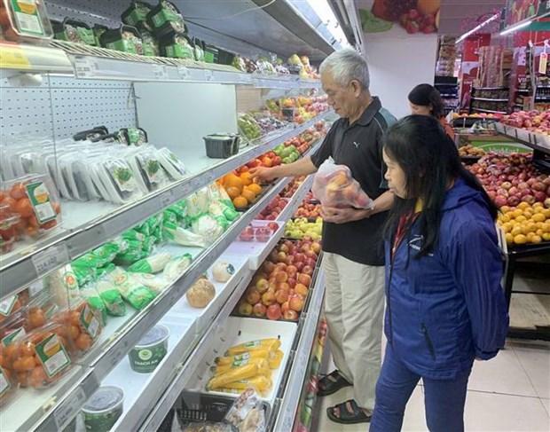 Hanoi : l'IPC en chute de 0,89% hinh anh 1
