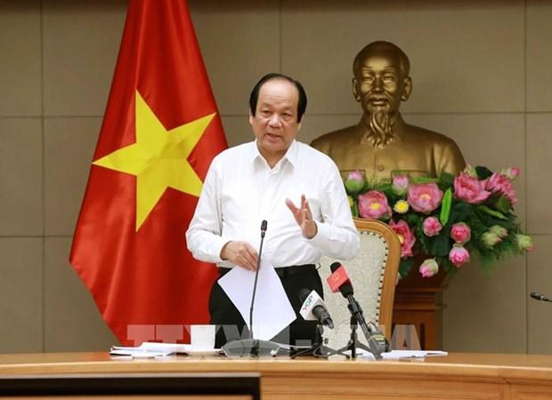 Confinement ne signifie pas blocage national, dit le ministre Mai Tien Dung hinh anh 1