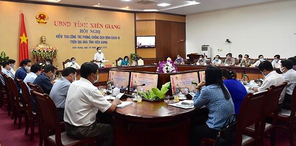 Kien Giang et Da Nang se mobilisent contre le coronavirus hinh anh 1