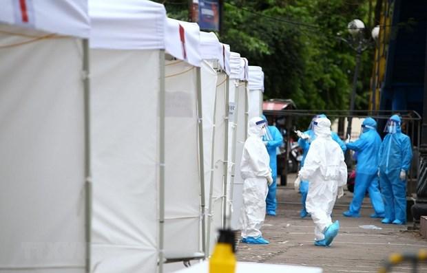 COVID-19 : Cinq nouveaux cas de contamination au Vietnam hinh anh 1