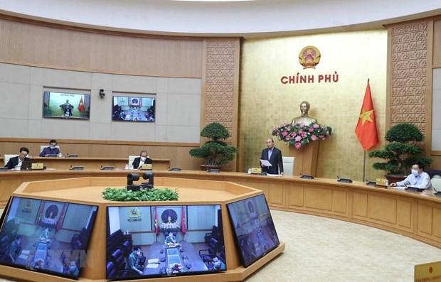Le PM ordonne des mesures plus drastiques pour lutter contre la pandemie de COVID-19 hinh anh 1